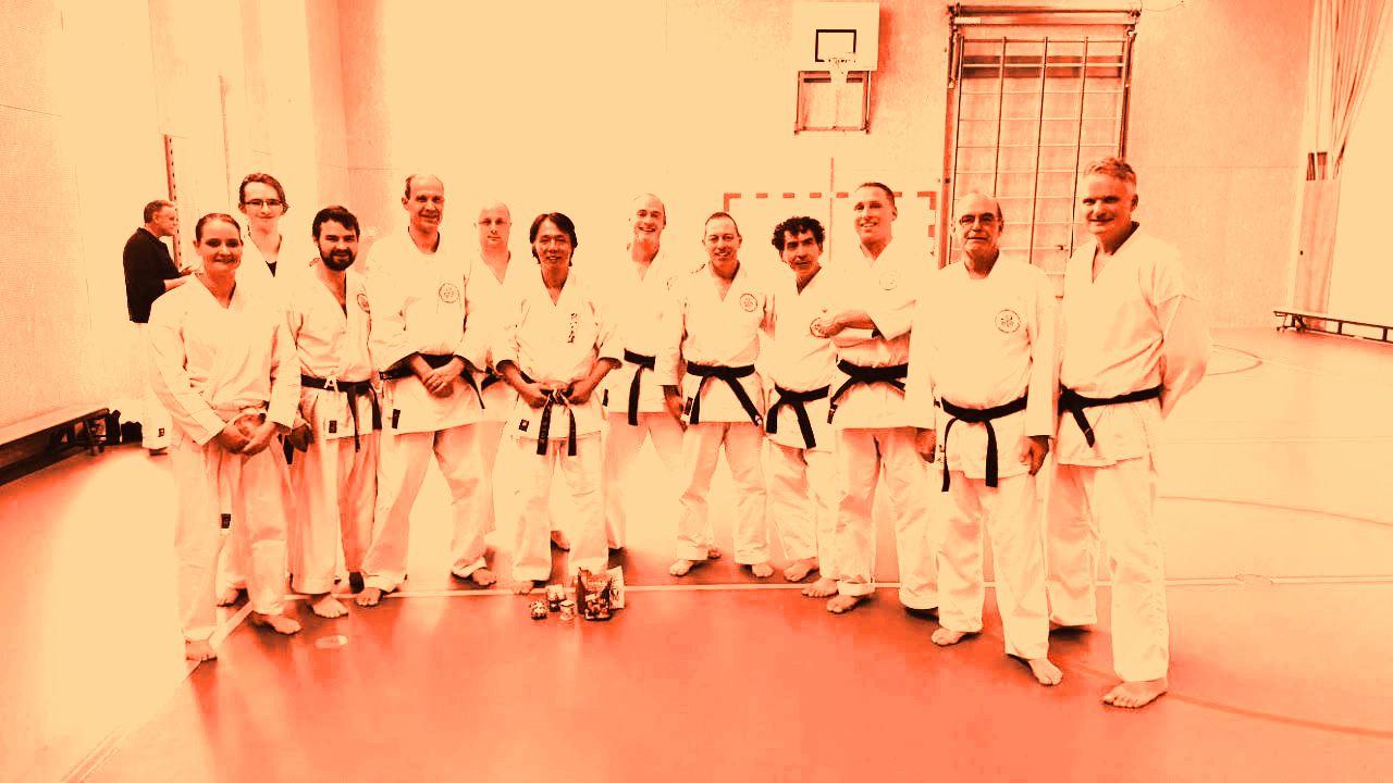 Special training met Yokoyama Sensei